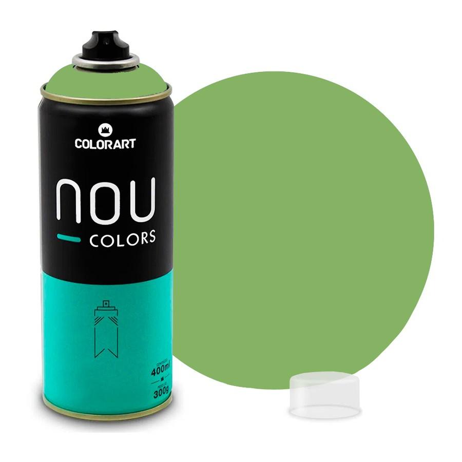 Tinta Spray NOU Verde Guaca 400ml