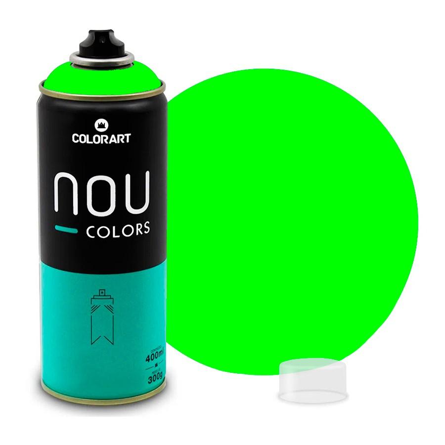 Tinta Spray NOU Verde Luminoso 400ml