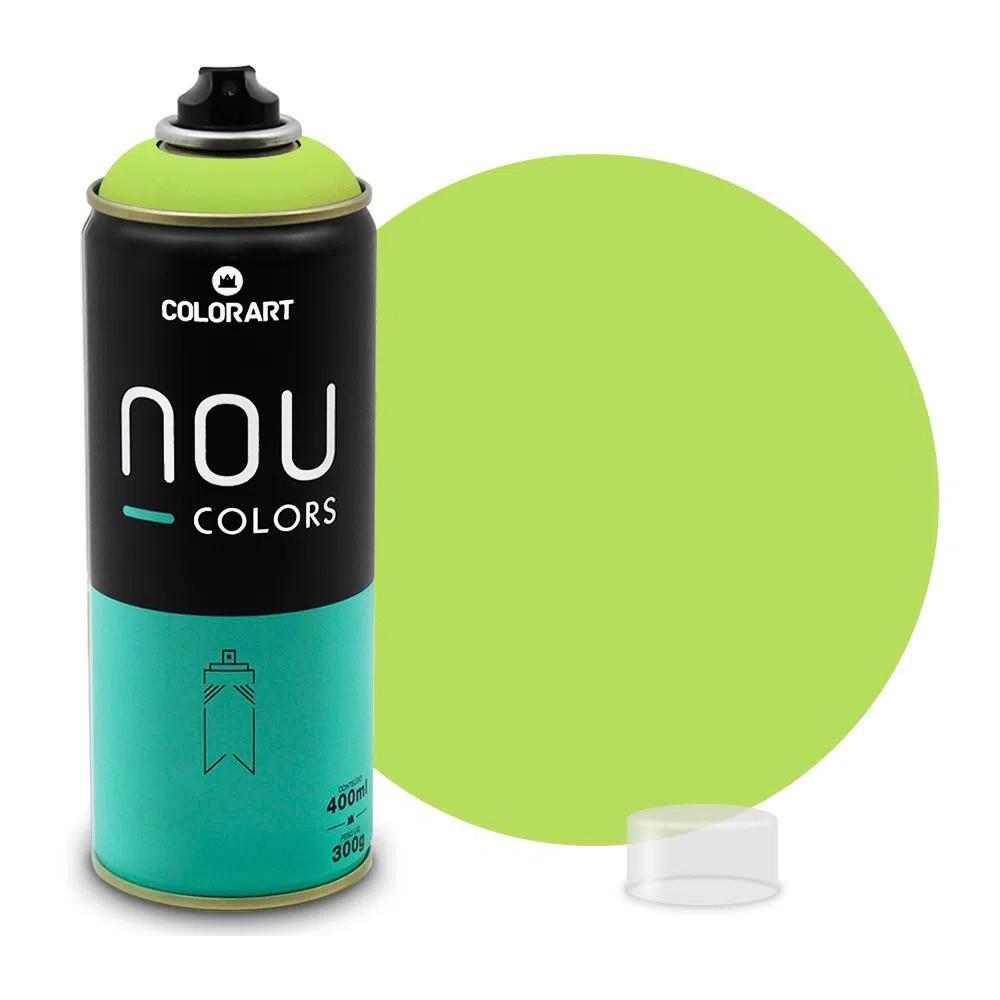 Tinta Spray NOU Verde Mundano 400ml