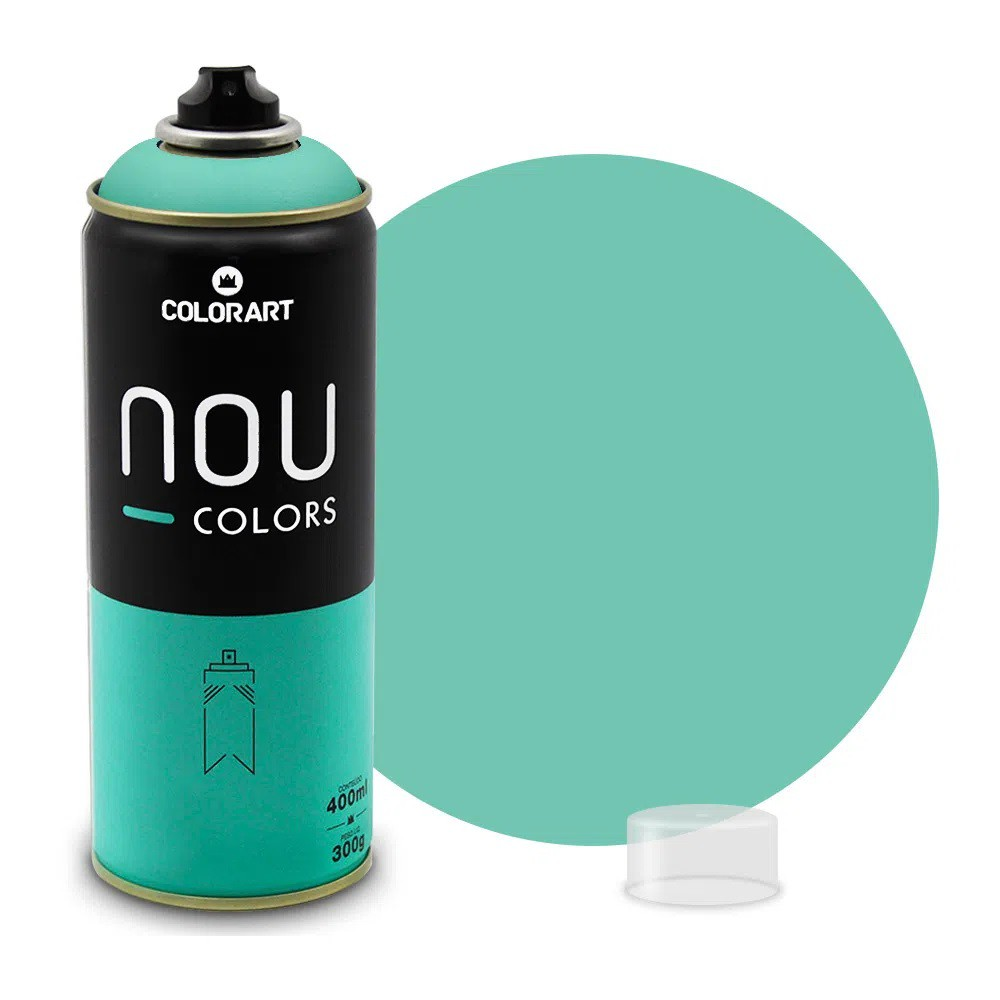 Tinta Spray NOU Verde NOU 400ml