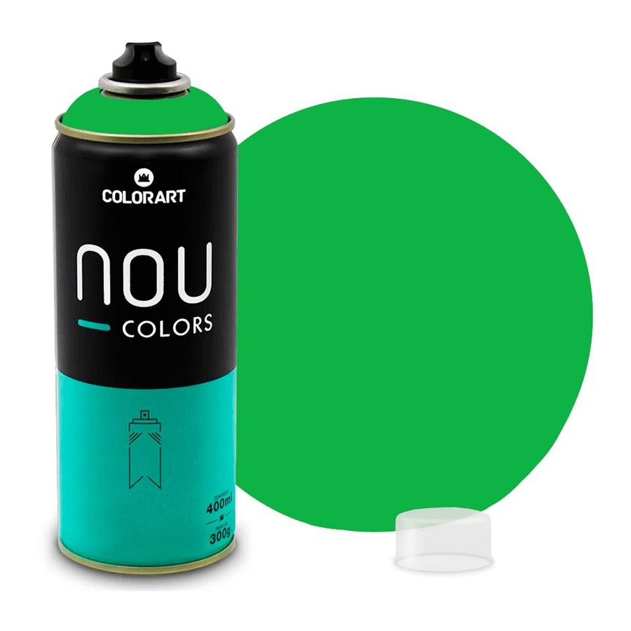 Tinta Spray NOU Verde Pimp My 400ml