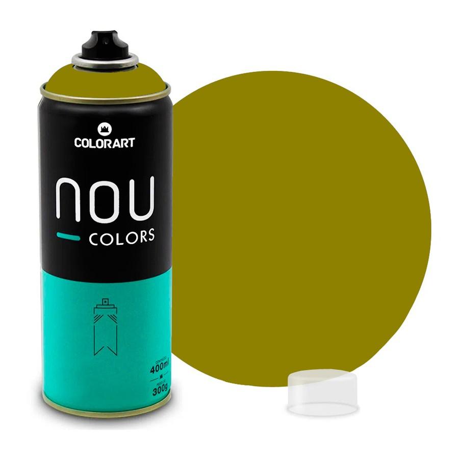 Tinta Spray NOU Verde Tatu 400ml