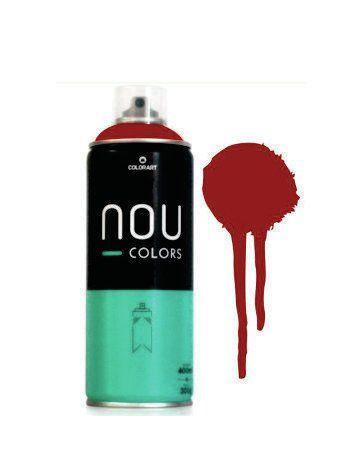 Tinta Spray NOU Vermelho Blood 400ml