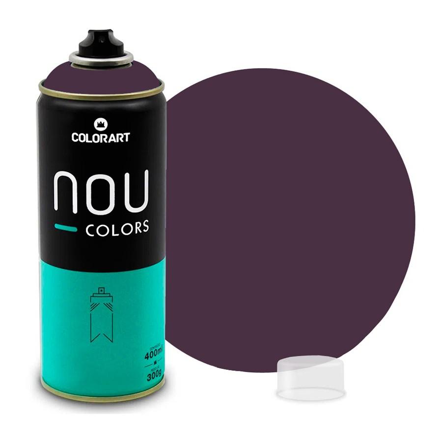 Tinta Spray NOU Vermelho Bordô 400ml
