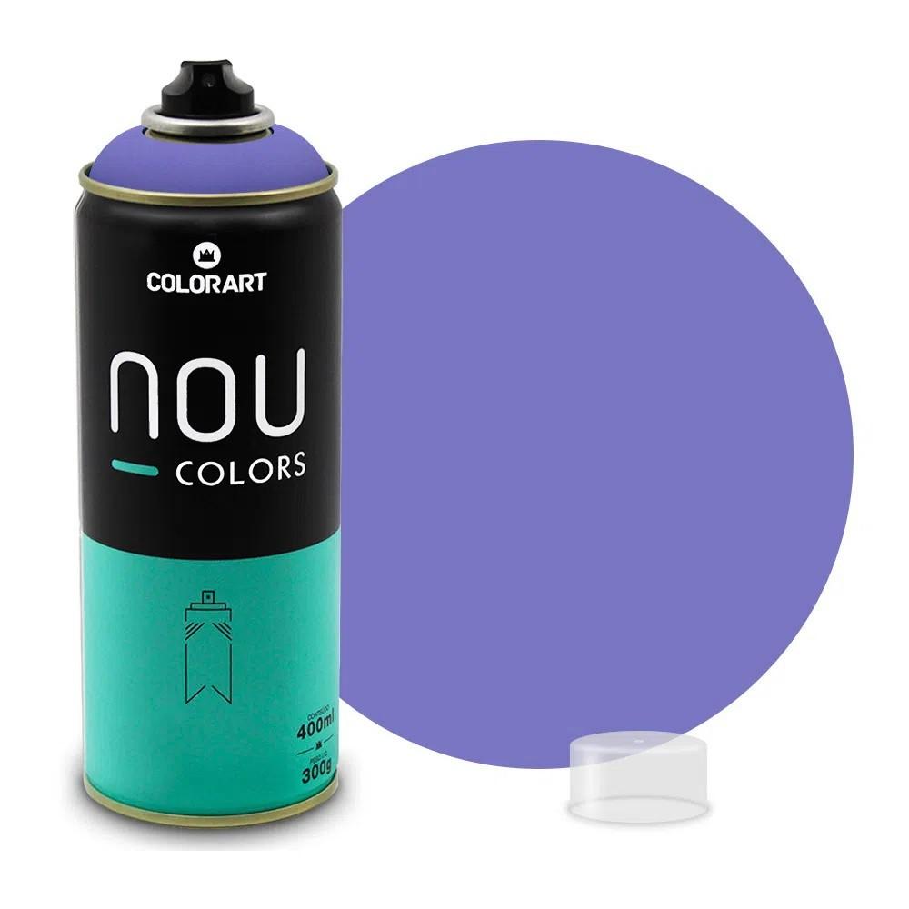 Tinta Spray NOU Violeta 400ml