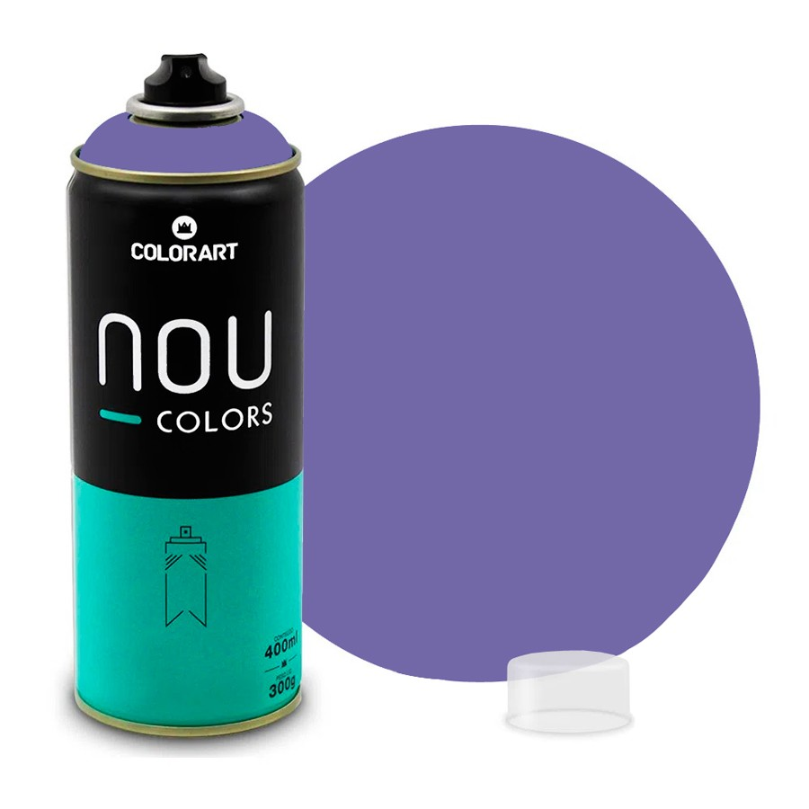 Tinta Spray NOU Violeta Cosmos 400ml