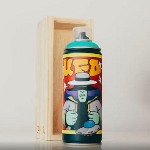 Tinta Spray NOU  x à x UFO Série Limitada