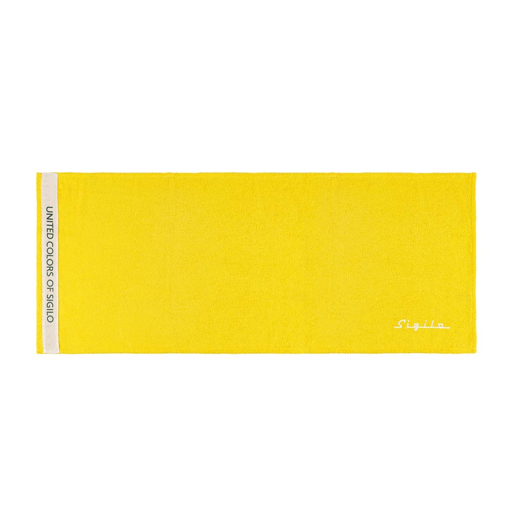 Toalha de Rosto Sigilo United Amarela