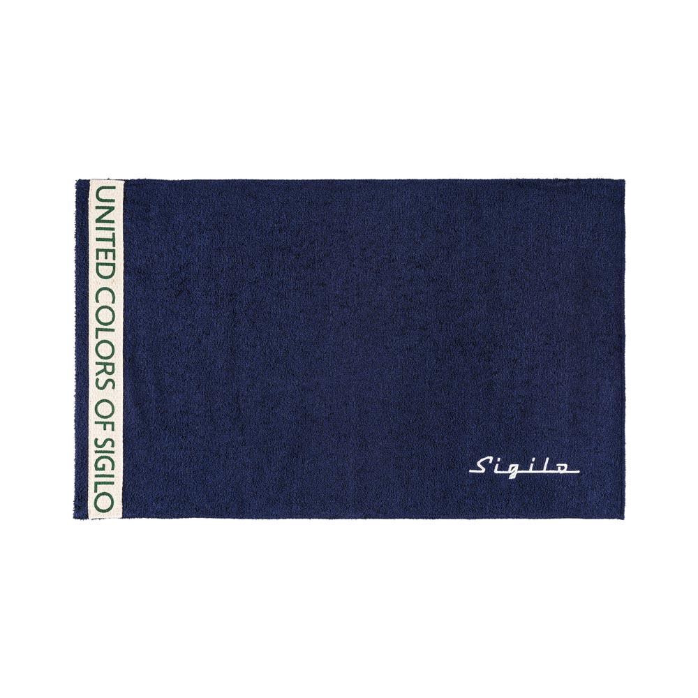 Toalha de Rosto Sigilo United Azul Marinho