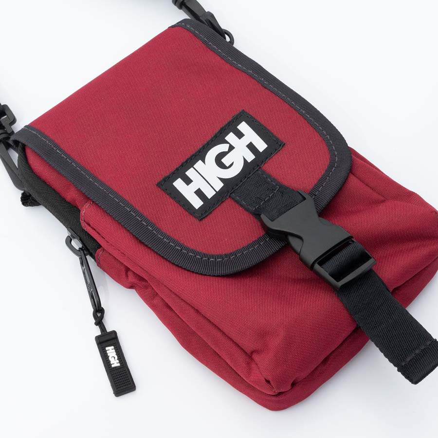 Wallet Bag High Reflective Logo Wine