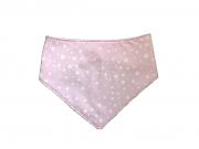 Babador Bandana -  Estrelas rosa