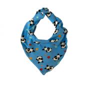 Babador Bandana - Panda Azul