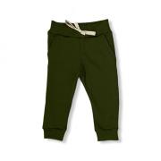 Calça Canelada Ribana - Verde