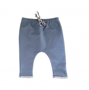 Calça Saruel Jeans Fake