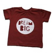 Camiseta Dream Big - Vermelha
