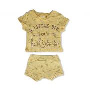 Conjunto Little Bit of Bliss - Amarelo