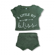 Conjunto Little Bit of Bliss - Verde