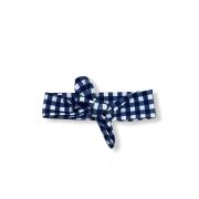 Faixa Baby - Xadrez Azul