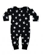 Macacão Estrelas - Preto