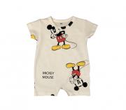 Macacão Mickey - Branco