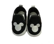 Sapatinho Baby Mickey Preto