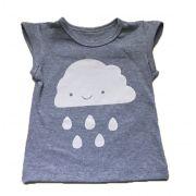 T-Shirt Nuvem - Cinza