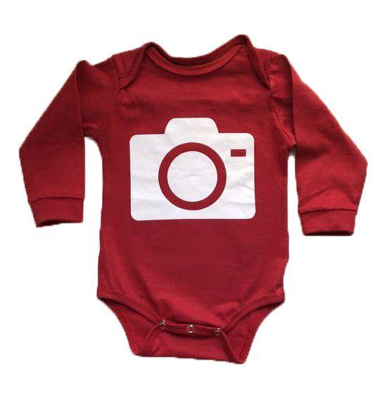 Body Câmera - Vermelho
