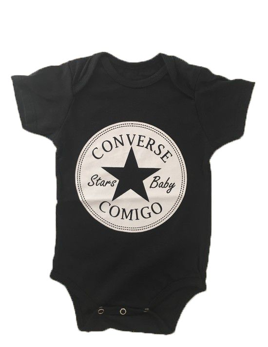 Body Converse Comigo - Preto