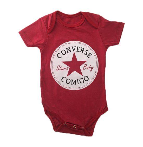 Body Converse Comigo - Vermelho