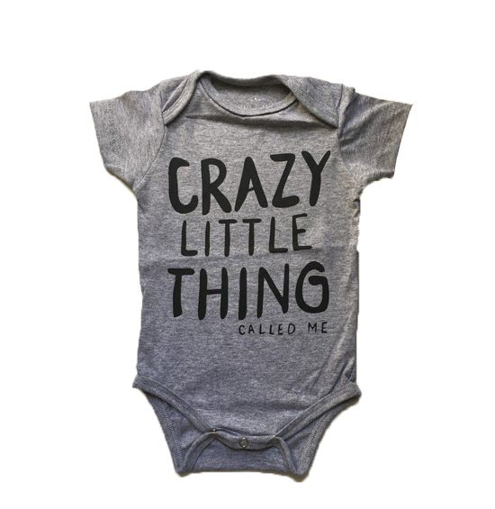 Body Crazy Little Thing - Cinza
