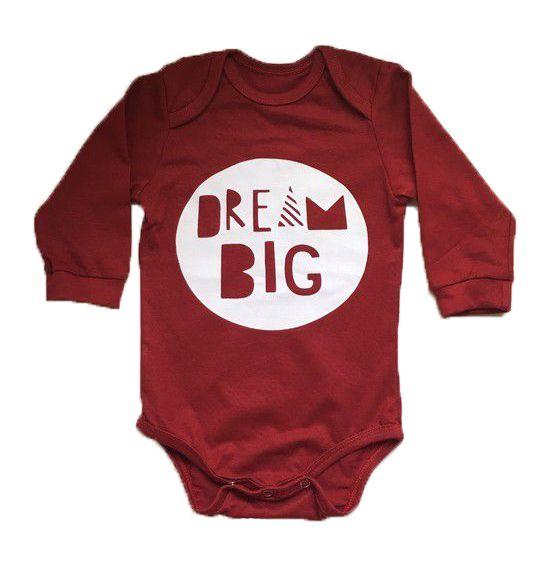 Body Dream Big - Vermelho