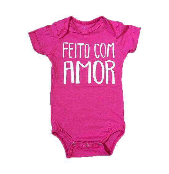 Body Feito Com Amor - Pink