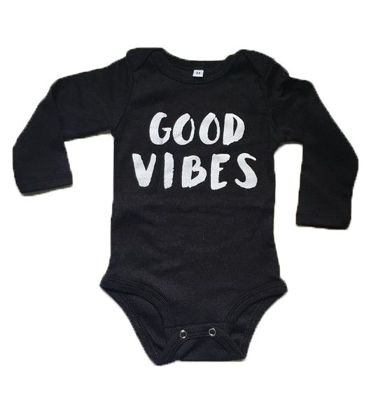 Body Good Vibes - Preto