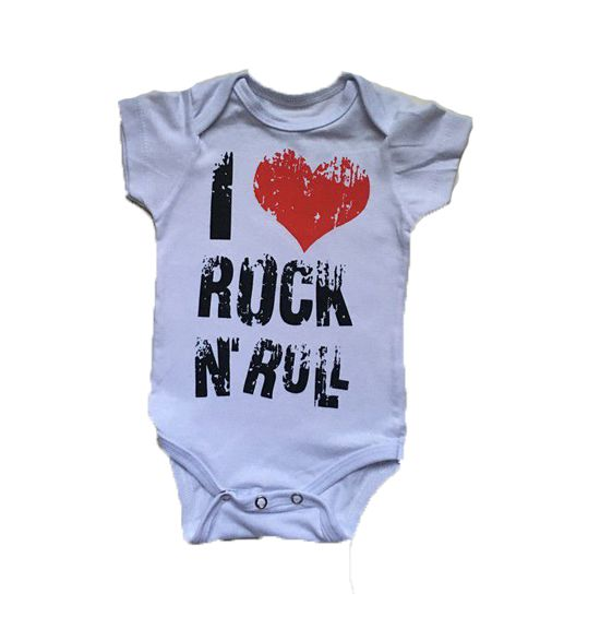 Body I Love Rock - Branco