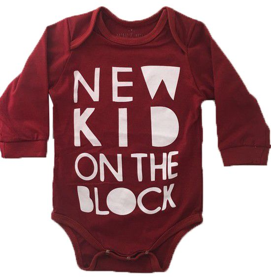 Body New Kid - Vermelho