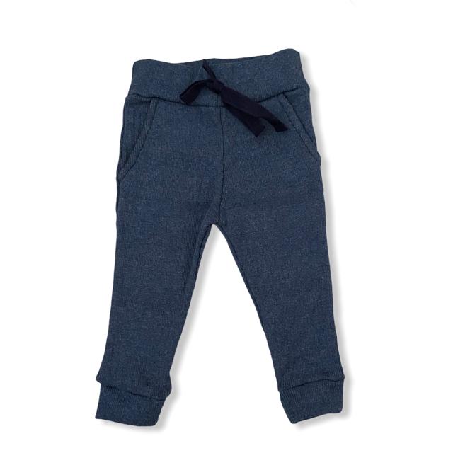 Calça Canelada Ribana - Jeans Fake
