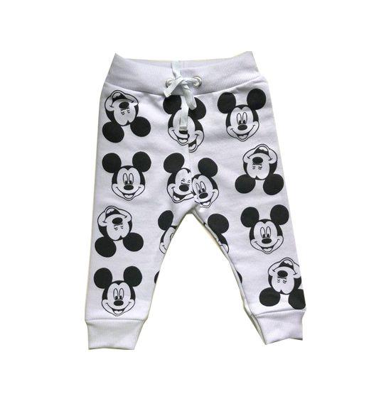 Calça Moletom Branca - Mickey