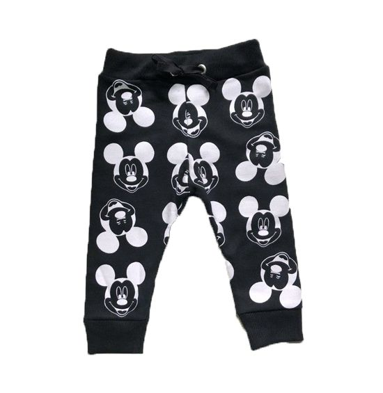 Calça Moletom Preta - Mickey