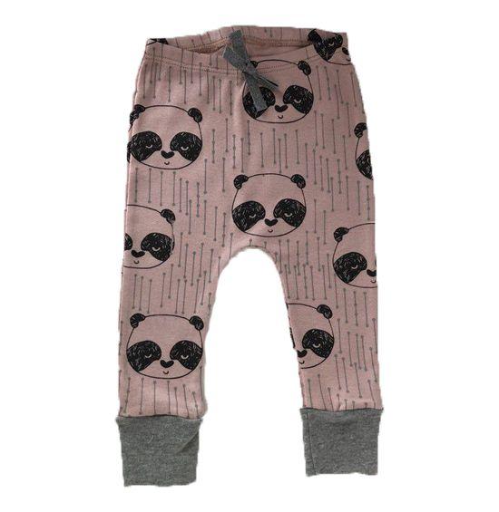 Calça Saruel Panda - Rosê