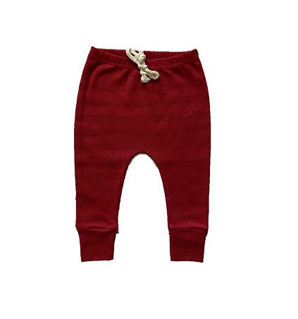 Calça Saruel Vermelha - Listras