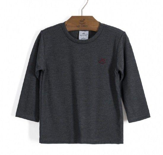 Camiseta Chumbo - Manga Longa