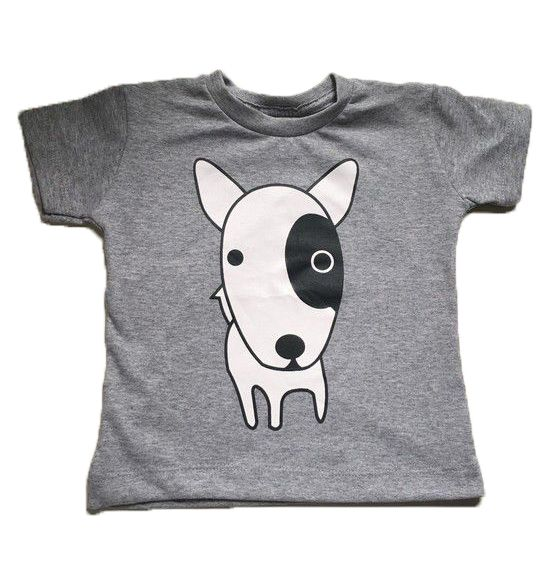 Camiseta Dog - Cinza