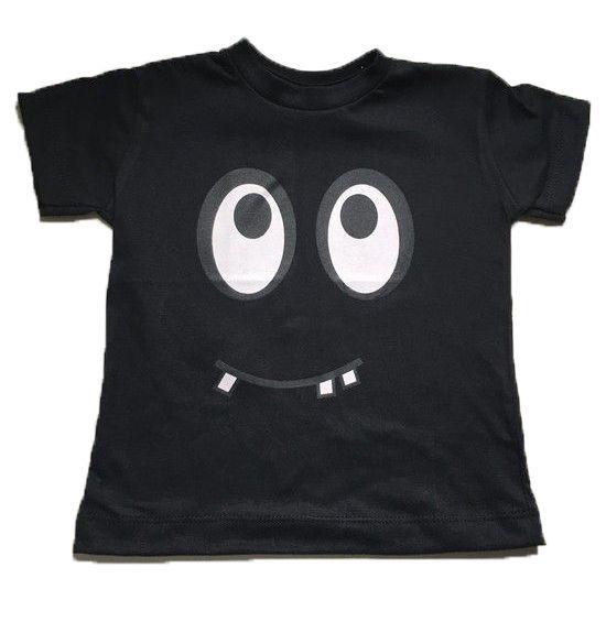 Camiseta Monstrinho - Preta