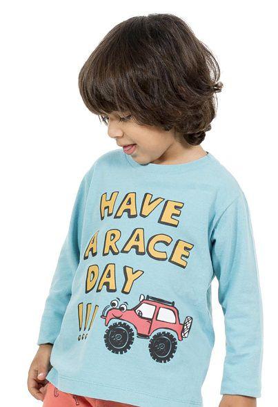 Camiseta Race - Manga Longa