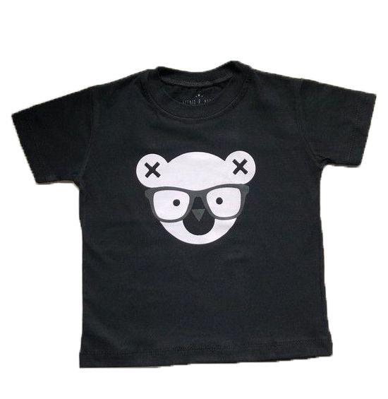Camiseta Coala - Preta