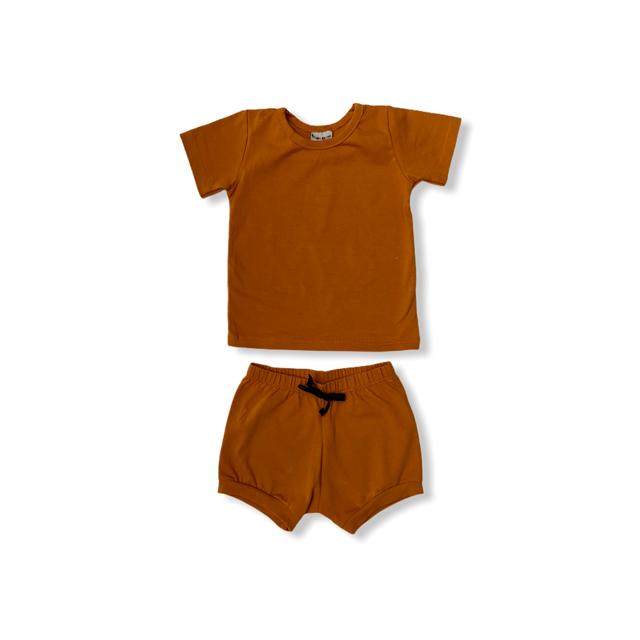 Conjunto Caramelo - Camiseta + Short