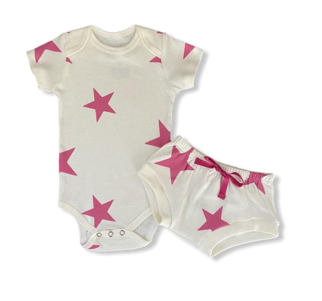Conjunto Estrelas Pink