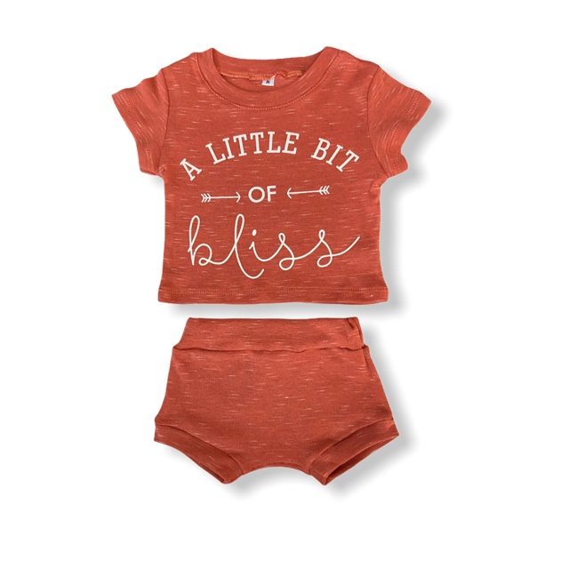 Conjunto Little Bit of Bliss - Coral