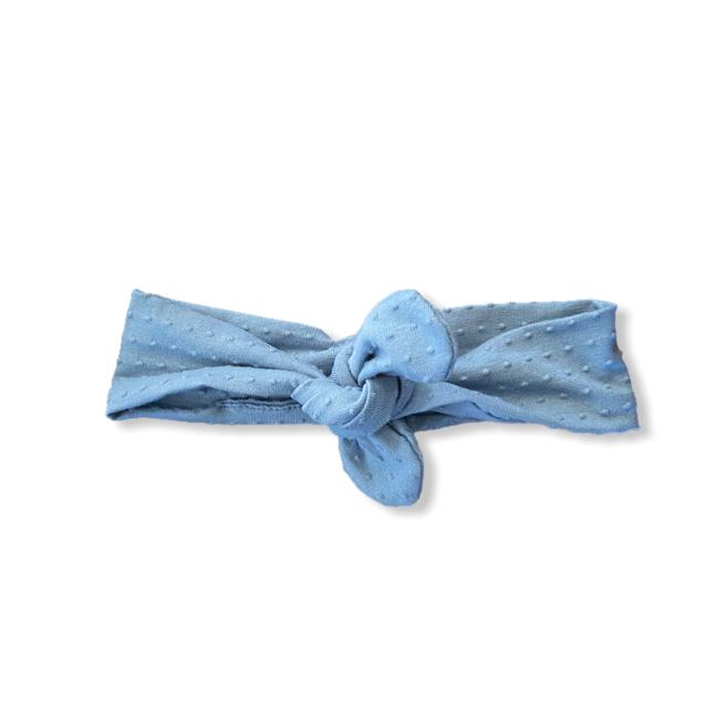 Faixa Baby - Textura Azul