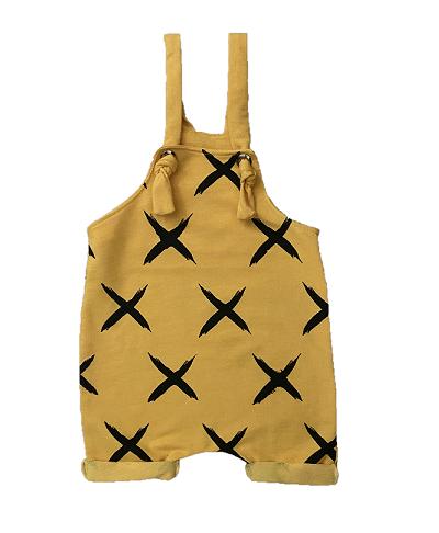 Jardineira X - Amarela